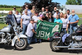 United Bikers of Maine-Piscataquis County Fundraises for Charlotte White Center